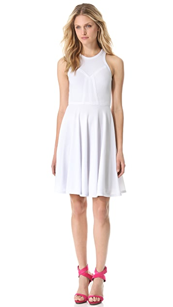 Yigal Azrouel Matte Crepe Jersey Dress