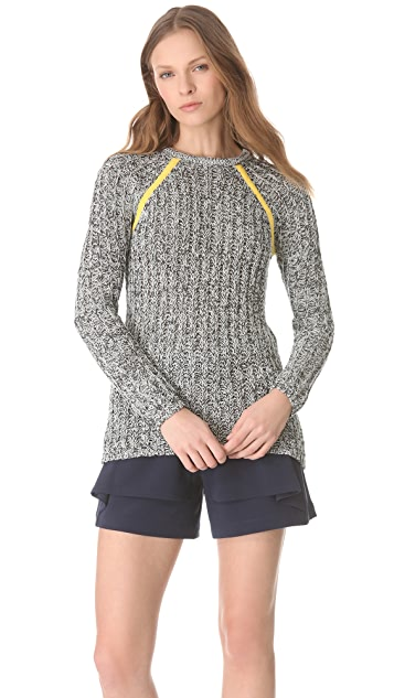 Yigal Azrouel Chunky Crew Sweater