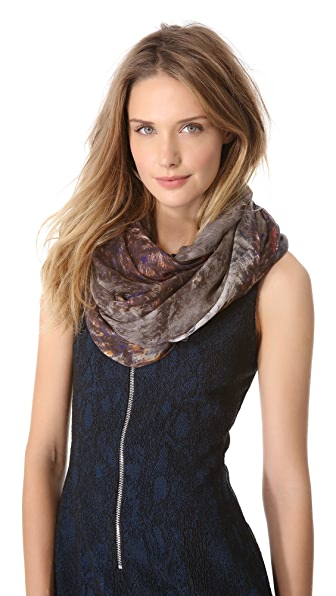 Yigal Azrouel Sheep Knit Print Scarf
