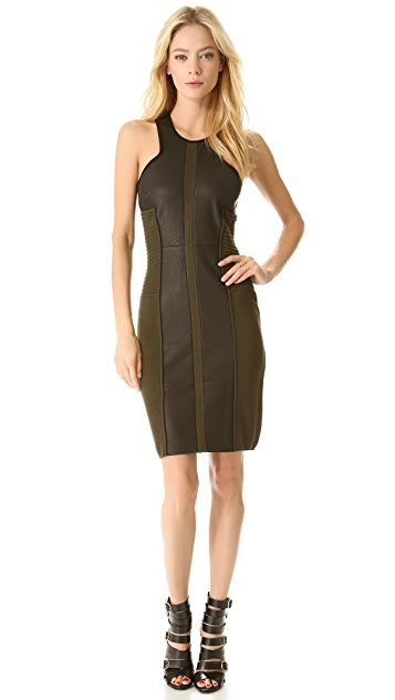 Yigal Azrouel Double Face Knit Dress