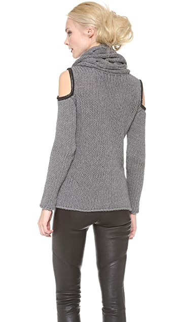 Yigal Azrouel Open Knit Top