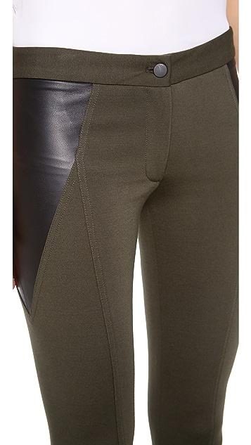 Yigal Azrouel Compact Jersey Pants
