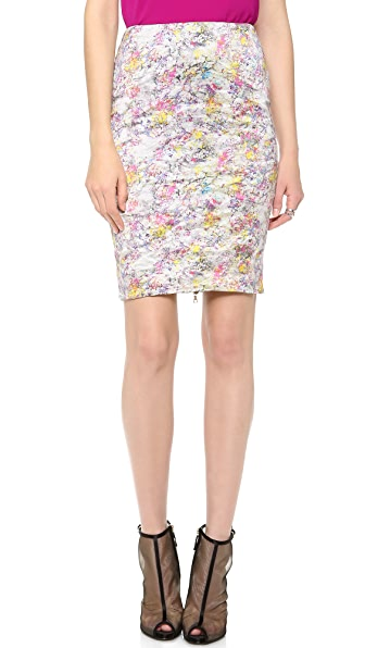 Yigal Azrouel Kaleidoscope Pencil Skirt