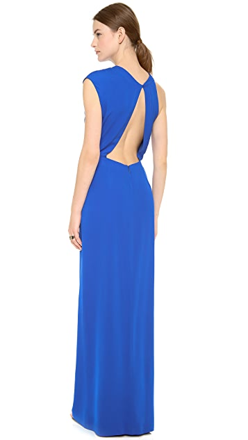 Yigal Azrouel Crepe Georgette Gown