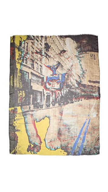 Yigal Azrouel City Lion Scarf