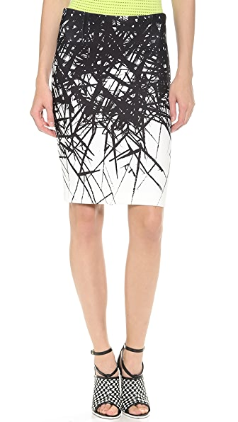 Yigal Azrouel Branch Scuba Skirt