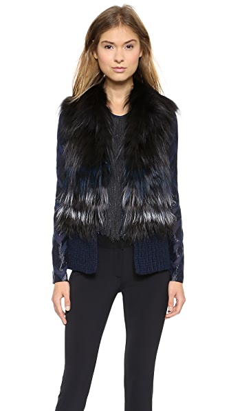 Yigal Azrouel For Fur Vest