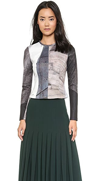 Yigal Azrouel Industrial Print Top