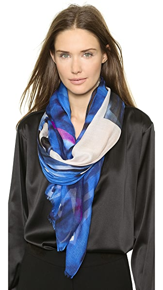 Yigal Azrouel Graphic Explosion Scarf
