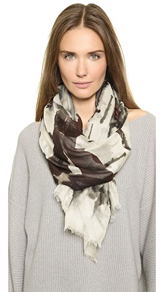 Yigal Azrouel Raining Dogs Scarf