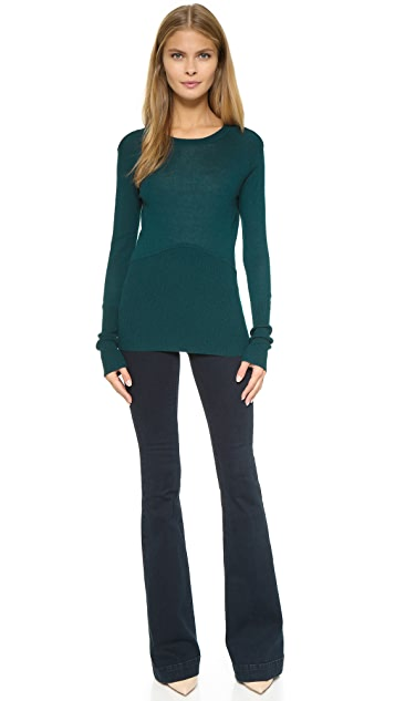 Yigal Azrouel Cold Shoulder Sweater
