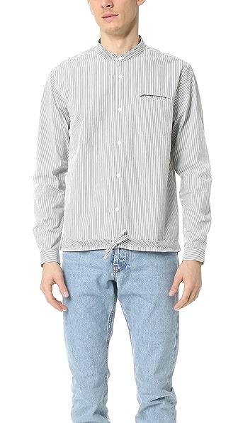 YMC Stripe Beach Shirt