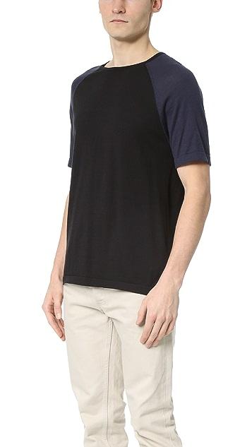 YMC Raglan Short Sleeve Knit Tee