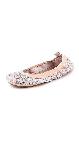 Yosi Samra Elastic Top Line Ballet Flats