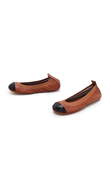 Yosi Samra Cap Toe Ballet Flats