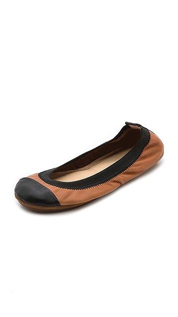 Yosi Samra Samantha Cap Toe Ballet Flats