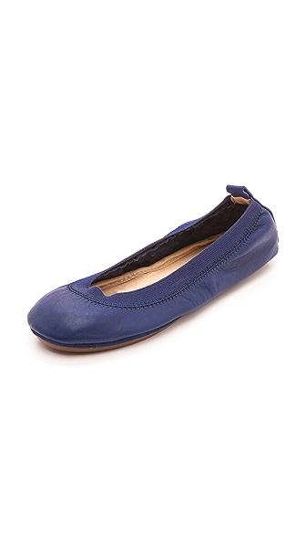 Yosi Samra Samara Leather Flats
