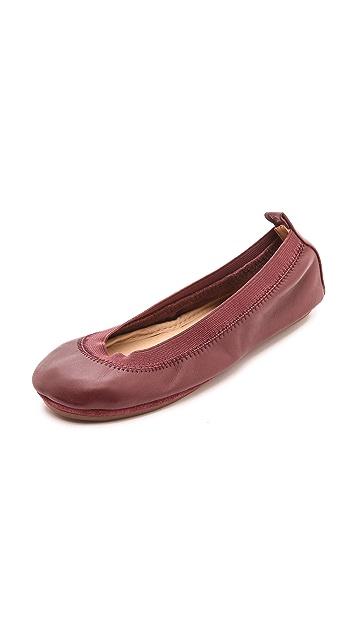 Yosi Samra Samara Soft Leather Flats