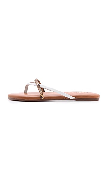 Yosi Samra River Metallic Sandals
