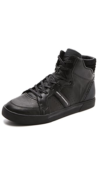 Y-3 Rydge High Top Sneakers