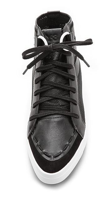 Y-3 Trinn Platform Sneakers