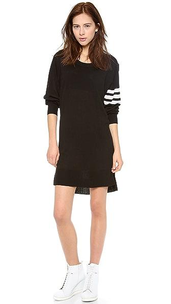 Y-3 Long Sleeve Sweater Dress
