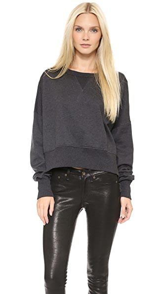 Y-3 Crop Sweatshirt