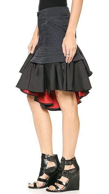 Y-3 Ruffle Skirt