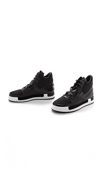 Y-3 Riyall II High Top Sneakers