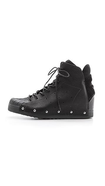 Y-3 Nipht Wedge High Top Sneakers