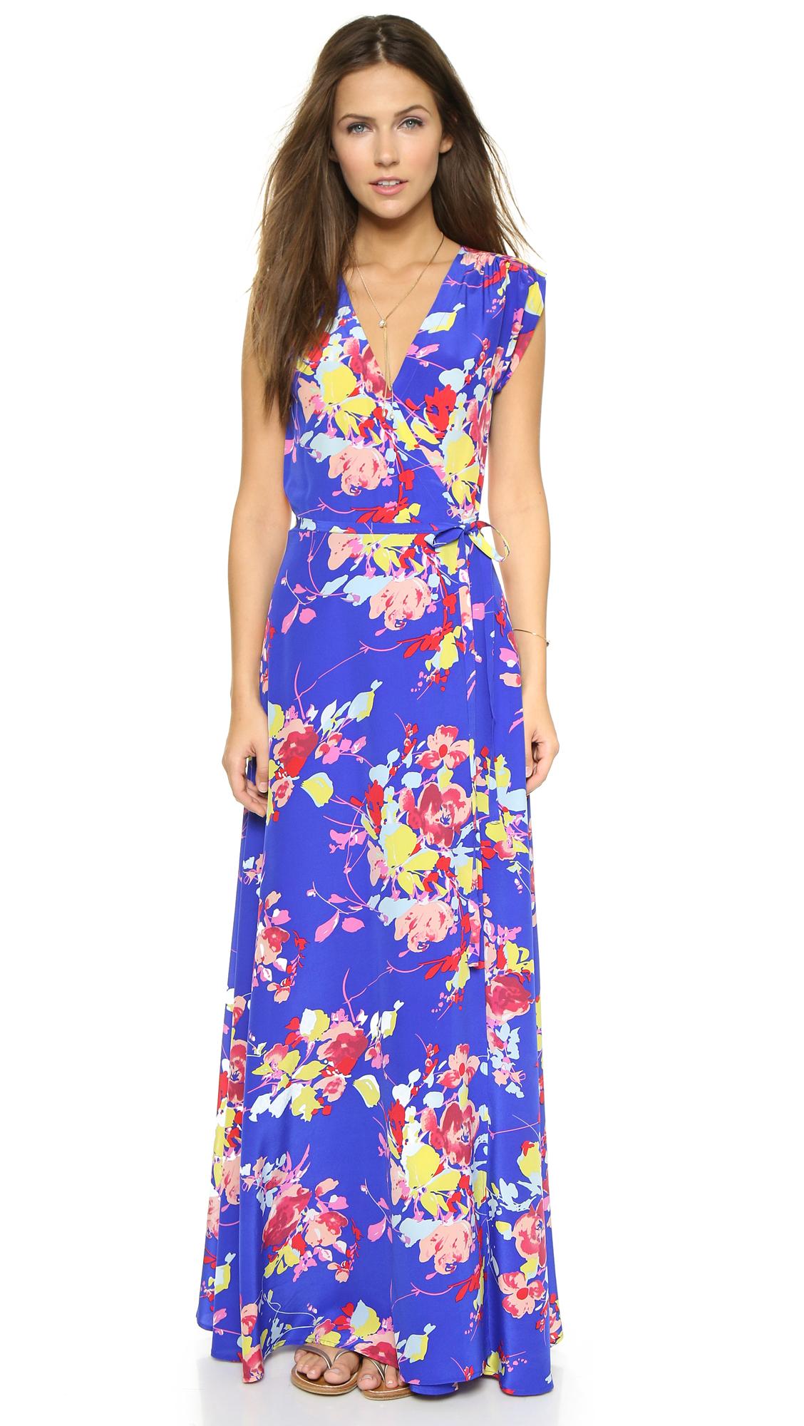Yumi Kim Long Wrap Dress