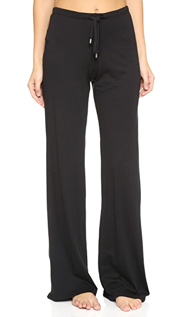 Yummie Wide Leg Pants with Tie Detail