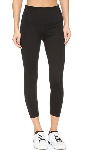 Yummie Gloria Skimmer Leggings In Black