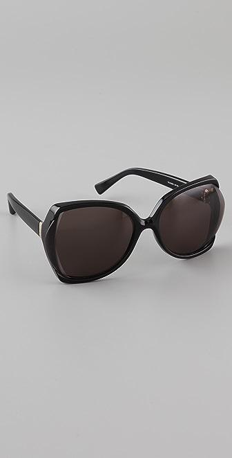 Saint Laurent Butterfly Sunglasses