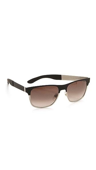 Saint Laurent Colorblock Sunglasses