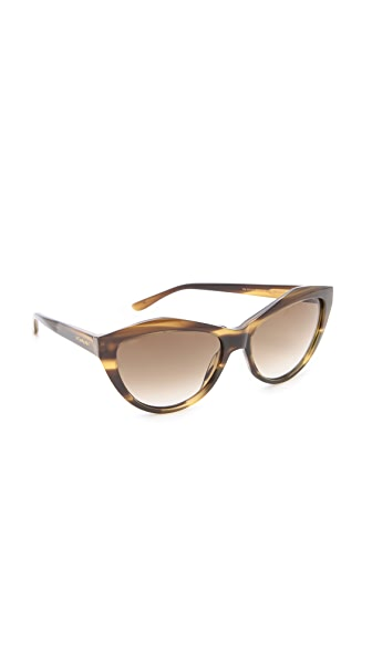 Saint Laurent Sharp Cat Eye Sunglasses