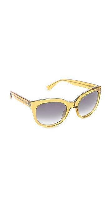 Saint Laurent Translucent Cat Eye Sunglasses