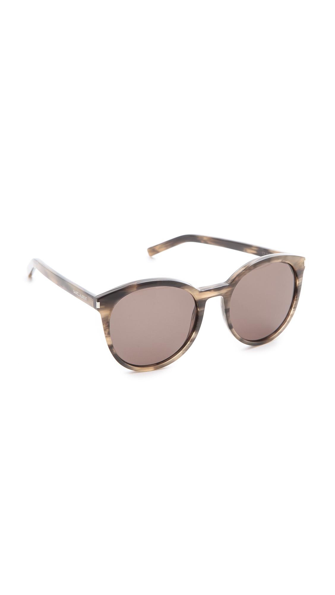 7f90e328b84 Saint Laurent Classic Preppy Round Sunglasses