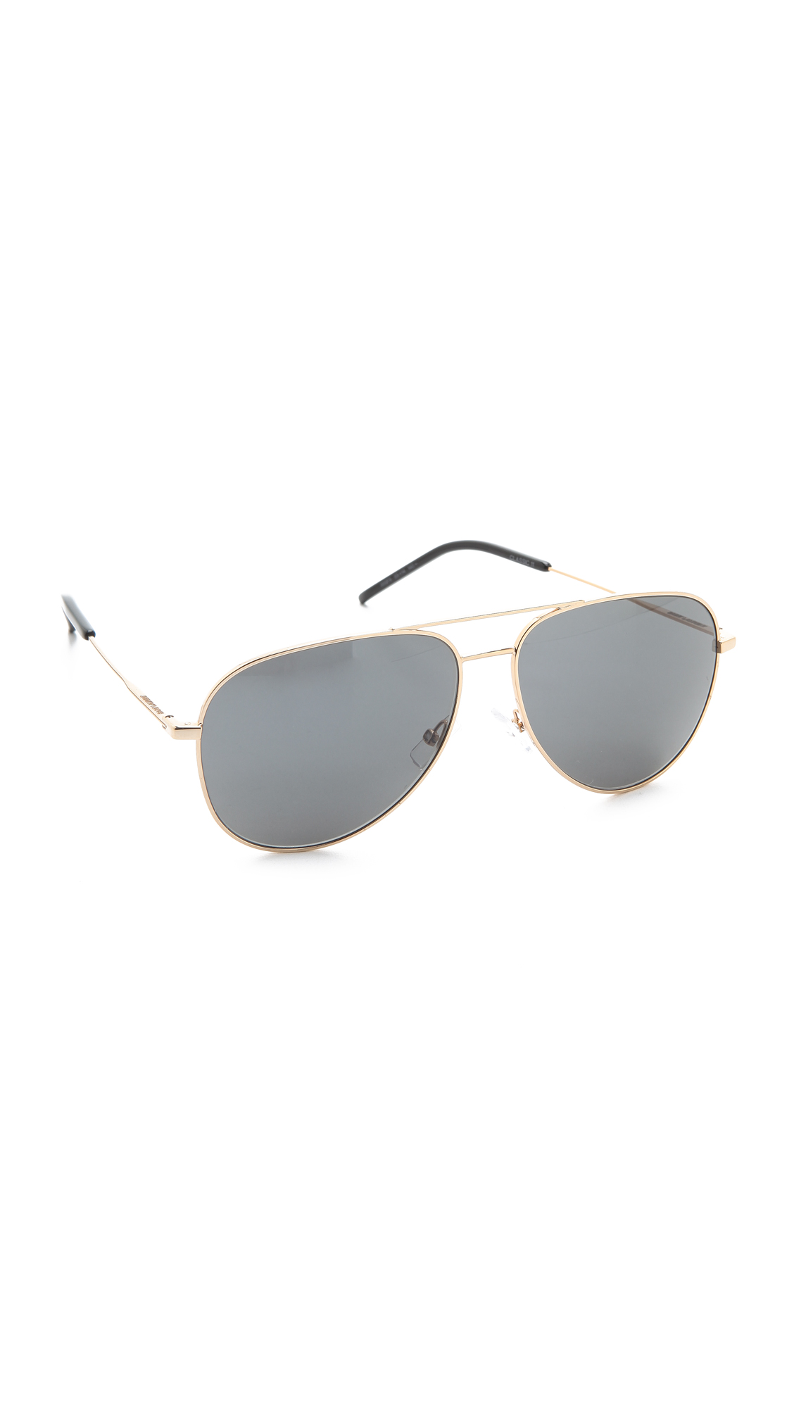 1fef361a4940d Saint Laurent Classic Metal Aviator Sunglasses
