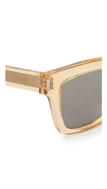 Saint Laurent Mirrored Square Sunglasses