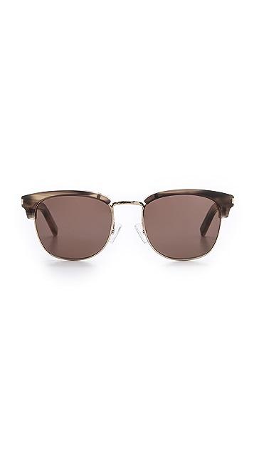Saint Laurent Top Rim Sunglasses