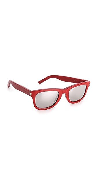 Saint Laurent Mirrored Sunglasses