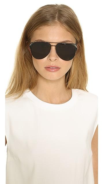 Saint Laurent Side Shield Sunglasses