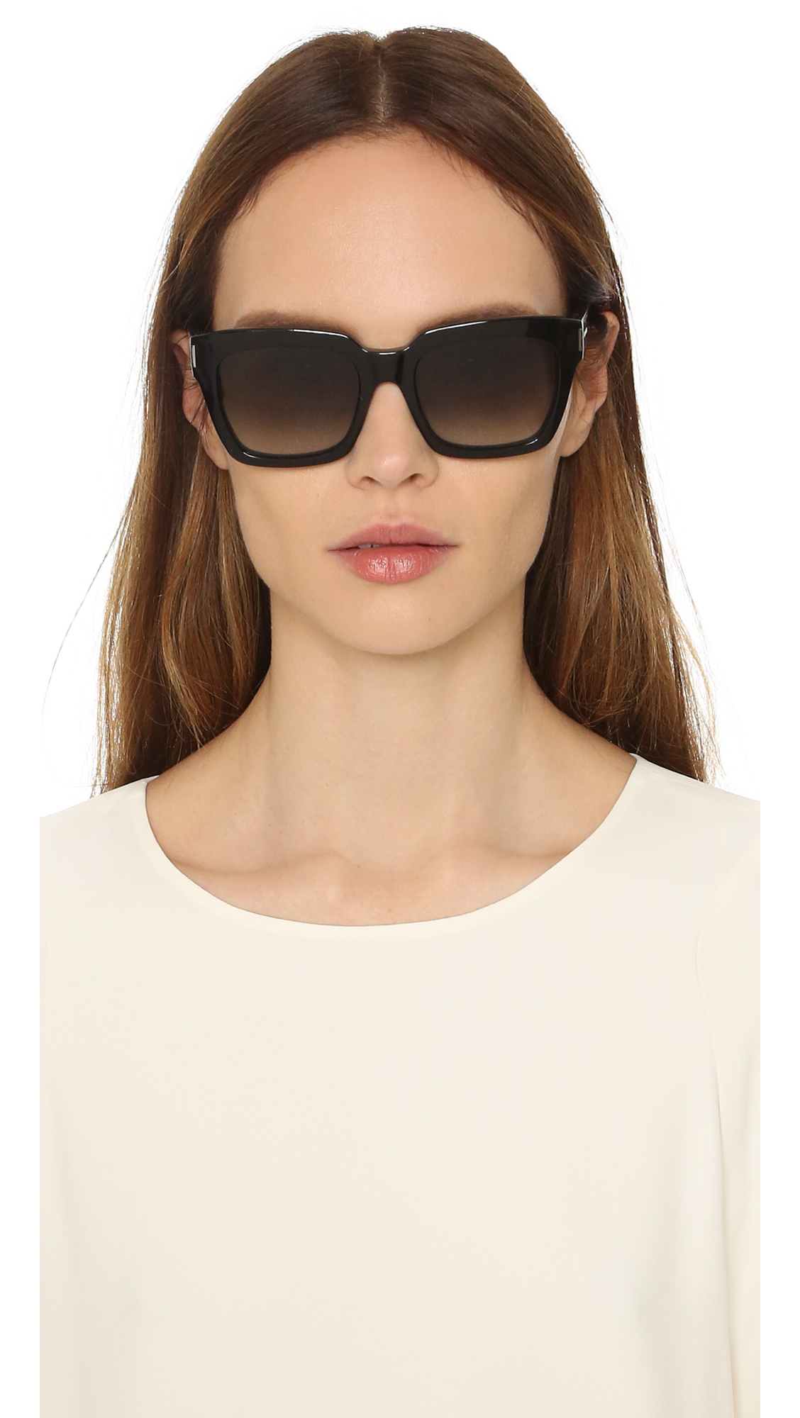 eecf7136d86176 Saint Laurent Bold 1 Sunglasses   SHOPBOP