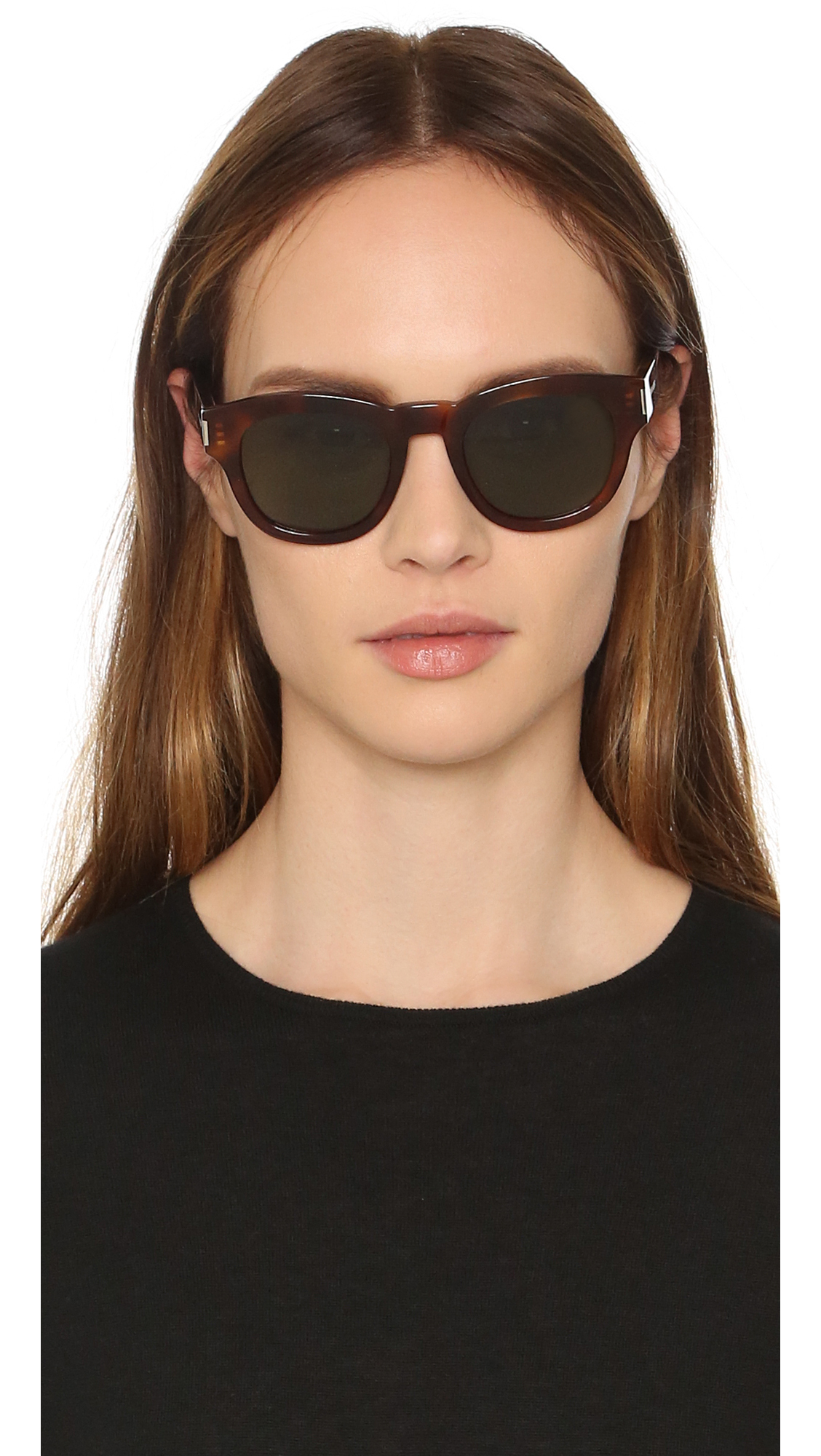 d0b34d816c3 Saint Laurent Bold 2 Mineral Glass Sunglasses