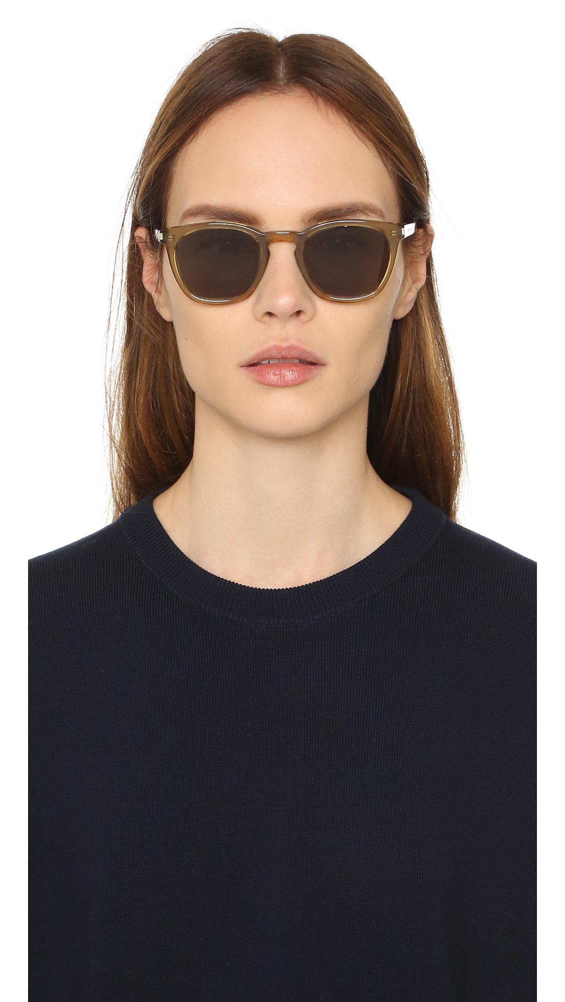 aa4df69f44b Saint Laurent SL 28 Sunglasses | SHOPBOP