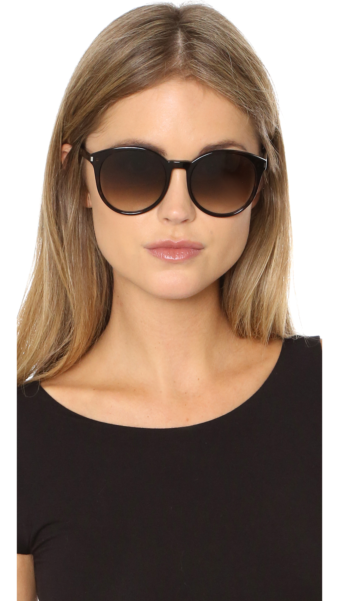 9c0c724af76 Saint Laurent Classic 6 Sunglasses | SHOPBOP