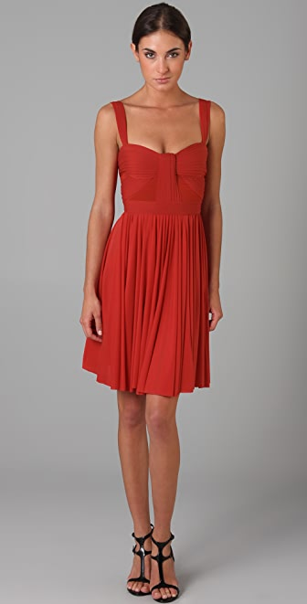 Zac Posen Short Flared Dress