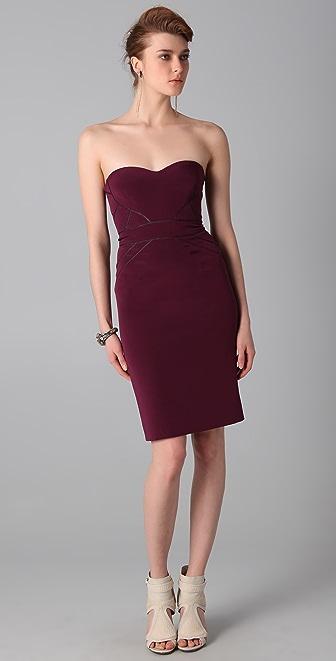 Zac Posen Strapless Dress