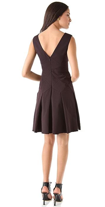 Zac Posen Stretch Suiting Dress
